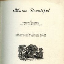 Image of F25 .N97 - The book is a pictorial book that covers all of the counties in Maine with a descripton of each one. There is no table of contents or index.