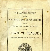 Image of Cover of Peabody Town Report