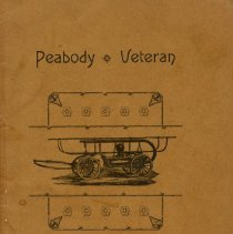 Image of Peabody Veteran Firemen's Association Constitution and Rules of Order 1890