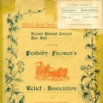 Image of Front Cover to 2nd Annual Ball - 1894