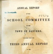 Image of South Danvers School Reports