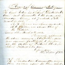 Image of Page from Records of School Book