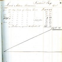 Image of School Account Book