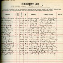 Image of School Register 1936-1937