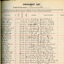 Image of School Register 1937-1938