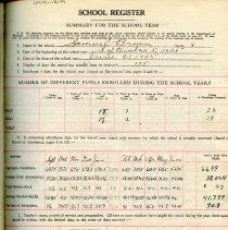 Image of School Register 1934-1935