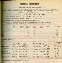 Image of School Register 1935-1936