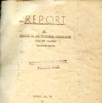 Image of 1938 Report on the City of Peabody