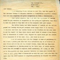 Image of Letter for John Williams - 1946