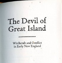 """Image of BF1576 .B25 2007 - Table of Contents:  The first stone is cast -- Evil things -- The Waltons -- The neighbors from hell -- Fences and neighbors -- Neighbors and witches -- Great Island's great matter -- The Mason family stakes its claim -- The spread of Lithobolia -- To Salem.  From the Library of Congresss:  In 1682, ten years before the infamous Salem witch trials, the town of Great Island, New Hampshire, was plagued by mysterious events: strange, demonic noises; unexplainable movement of objects; and hundreds of stones that rained upon a local tavern and appeared at random inside its walls. Town residents blamed what they called """"Lithobolia"""" or """"the stone-throwing devil."""" In this lively account, Emerson Baker shows how witchcraft hysteria overtook one town and spawned copycat incidents elsewhere in New England, prefiguring the horrors of Salem. In the process, he illuminates a cross-section of colonial society and overturns many popular assumptions about witchcraft in the seventeenth century."""