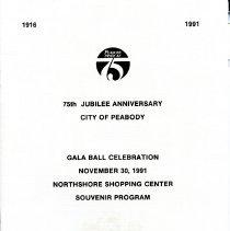 Image of Gala Program for Jubilee - 1991