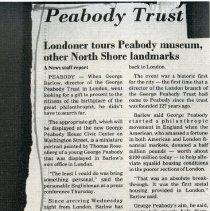 Image of Peabody Trust - Londoner Tours Peabody - 1989