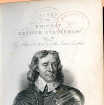 Image of Peabody/Sutton Shelf AC 1 L3 v.6 - Biography of Oliver Cromwell.