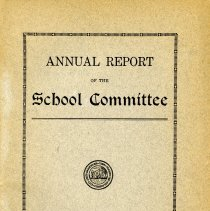 Image of Annual School Report - 1918