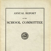 Image of Annual Report of the School Committee - 1924