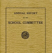 Image of Annual Report of the School Committee - 1936