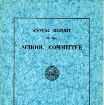 Image of Annual Report of the School Committee - 1930