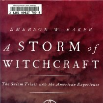 """Image of Front Cover for """"A Storm of Witchcraft"""""""