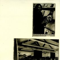 Image of Images of West Branch Library & Mary Ann Tricarico - 1990