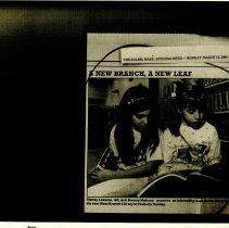 Image of Stacey Lazares & Bonnie Matross - 1990