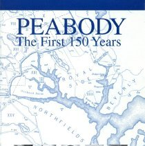 Image of F 74 P3 D68 2000, c 8 - First 150 (sesquicentennial) years of Peabody. This thirty-nine page book provides a brief but concise glimpse into the history and people of Peabody starting when Peabody was a part of Salem until South Danvers, now Peabody, broke away from Danvers in 1855.