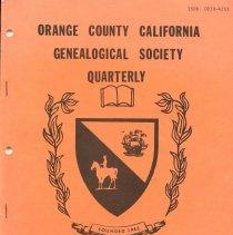 Image of Orange County California Genealogical Society