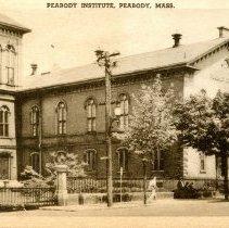 Image of Peabody Institute Postcard - 1943