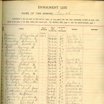 Image of 1902-1903 School Register