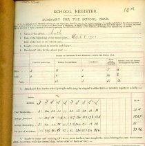 Image of 1903-1904 School Register