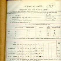 Image of 1905-1906 School Register
