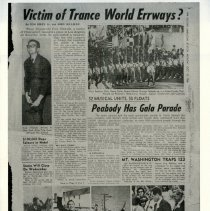 Image of Gold Jubilee newspaper clipping - 1966