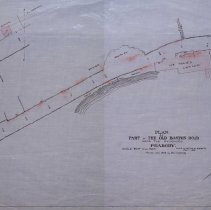 Image of Plan of Part of the Old Boston Road - 1881