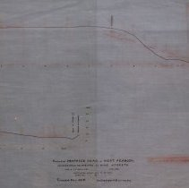 Image of Proposed road leading from Newbury to Pine Street - 1886