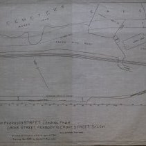 Image of Proposed Road near Harmony Grove Cemetery