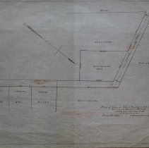 Image of Proposed School House Lot and Roads, 1869