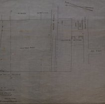 Image of Plan Showing Extension of Bowditch Court