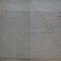 Image of Proposed Boston & Main Railroad Track in Peabody - 1897