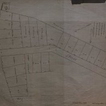 Image of Map of land owned by James King - 1898