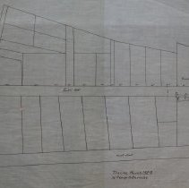 Image of Map of Franklin Street; Lowell Street & Kosciusko Street