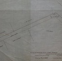 Image of Proposed new road in West Peabody leading from Newbury to Pine Street 1886