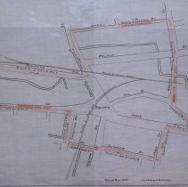 Image of Proposed Fire Limits around Peabody Square 1916