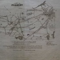 Image of Map of the Town of Peabody