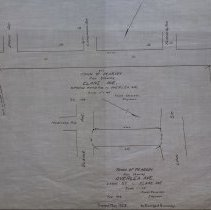 Image of Plan Showing Overlea Ave.  Lynn St. to Elane Ave.