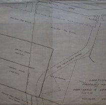 Image of Proposed new road from Northend to Seneca Street, 1919