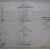 Image of Elevation of the Gate Chamber and House