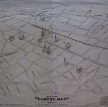 Image of View of Peabody, Mass. 1877
