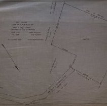 Image of Plan showing land of G.T.B. Bagley near high school to be taken by Peabody