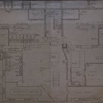 Image of Basement plans of old West School
