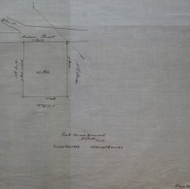 Image of Map of Peabody's Gravel Pit near Proctor's - 1854