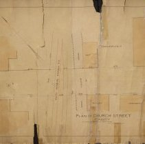 Image of Plan of Church Street, 1893